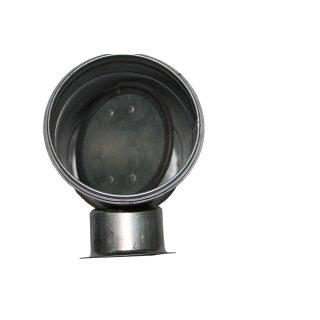 Absperrklappe 400mm