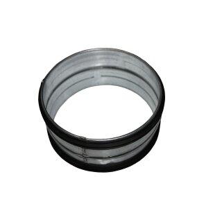 Verbindungsstück / Nippel 125mm mit Lippendichtung