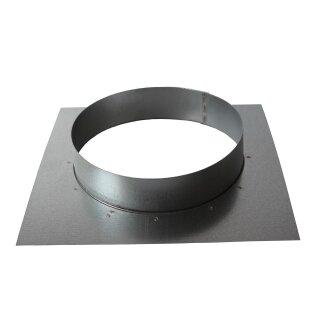 Wandflansch 160mm (Platte: 220 x 220mm)