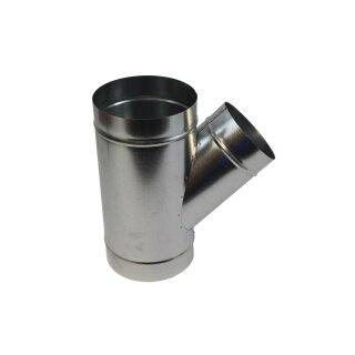 Abzweigstück 45° 125mm Abgang 80mm