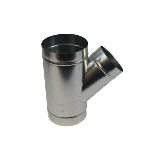 Abzweigstück 45° 300mm Abgang 160mm