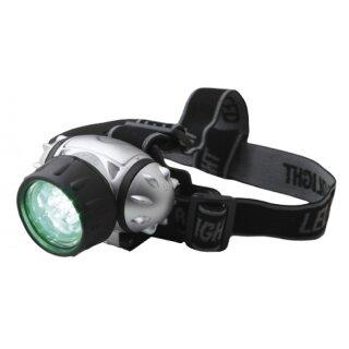 Kopfleuchte mit grüner LED