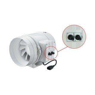 Vents TT 150mm (405 / 520cbm) mit Drehzahlregler und Thermostat