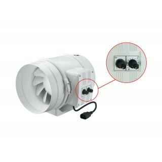 Vents TT PRO 250mm (1110 / 1400cbm) mit Drehzahlregler und Thermostat