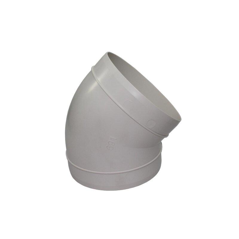 Verbindungsstück 150 mm PVC Rund Lüftungsrohr