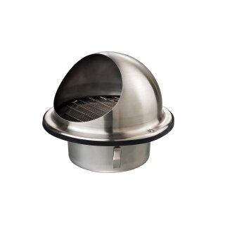 Wandauslaß Edelstahl mit Schutz 150mm
