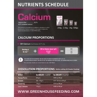 Powder Feeding Calcium 1Kg