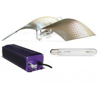 Beleuchtungsset mit Adjust a Wing medium, Lumatek und Philips 600W