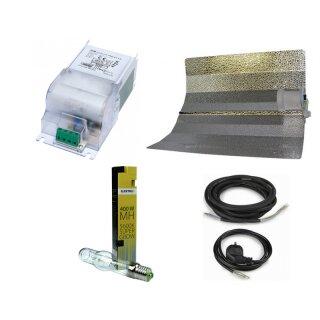 Beleuchtungsset mit Hammerschlagreflektor, GIB Vorschaltgerät und Elektrox MH 400W
