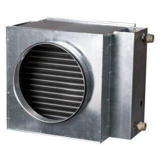 Luftwasser-Heizregister 100 mm / 2 Wärmetauschflächen