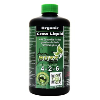 Green Buzz Liquids Organic Grow Liquid 500ml