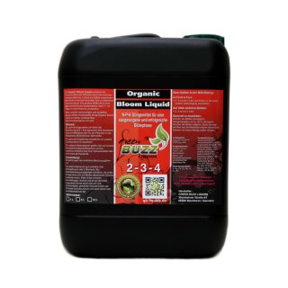 Green Buzz Liquids Organic Bloom Liquid 10L