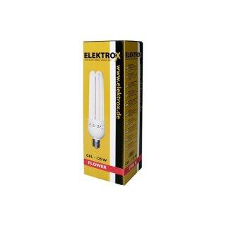 Elektrox Energiesparlampe 125W (Blüte)