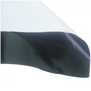 Schwarz/weiß Folie 25m