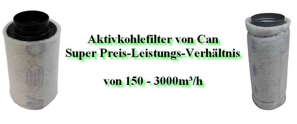 Aktivkohlefilter Can-Lite